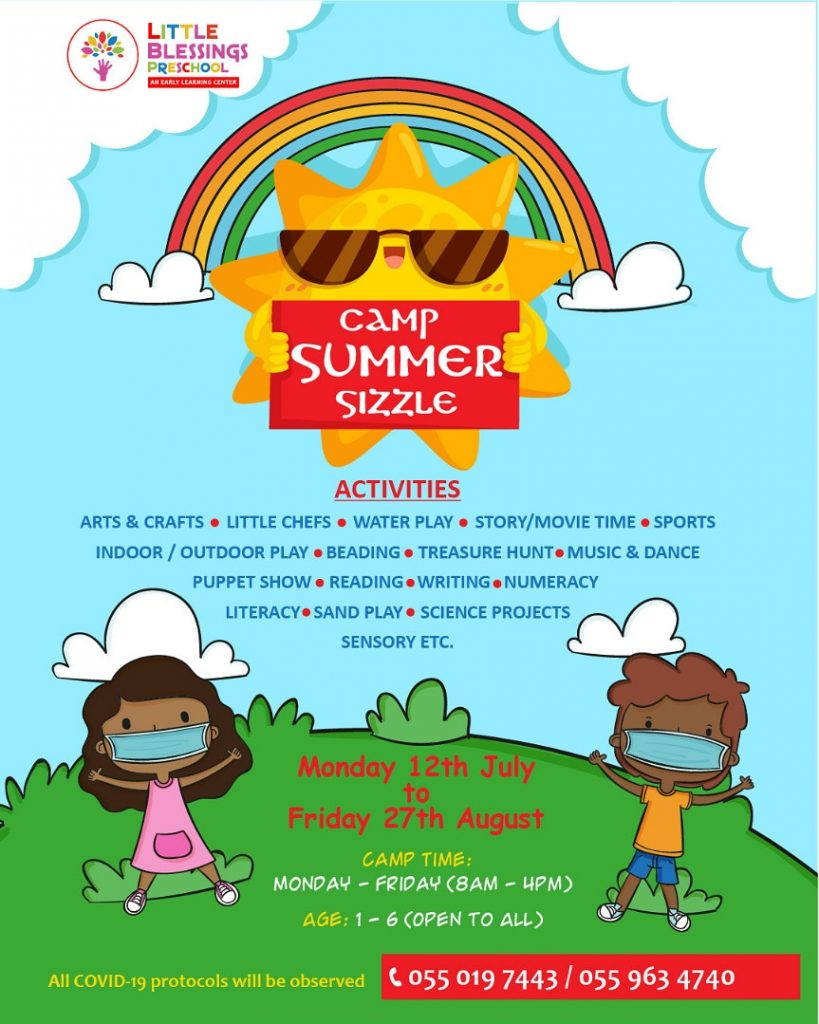 Camp Summer Sizzle